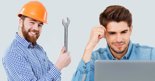 Being a Plumber vs. Being a Software Developer - Net Worth Simulations