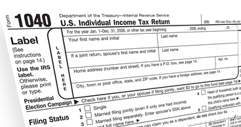List of IRS Income Level Triggers