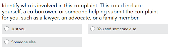 Consumer Financial Protection Bureau Complaint Step 5