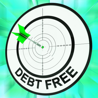 debt free bullseye