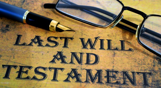 estate planning - last will and testament